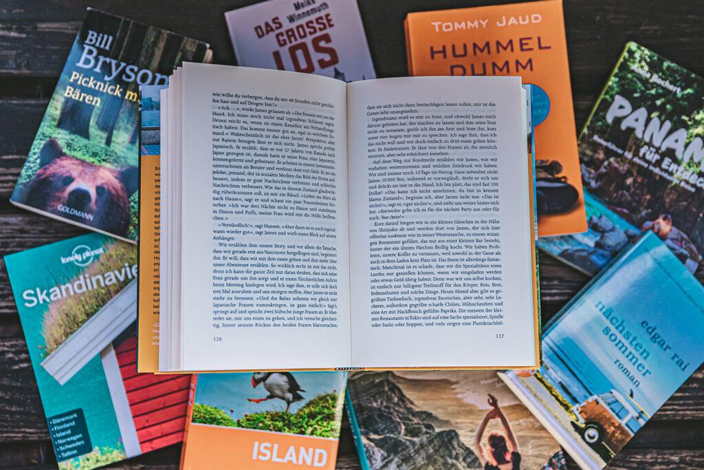 Reisen in Gedanken – Diese Bücher entführen dich rund um die Welt